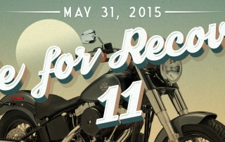 Livengrin Foundation's annual Ride for Recovery is a motorcycle and bicycle poker run which supports recovery from drug addiction and alcoholism